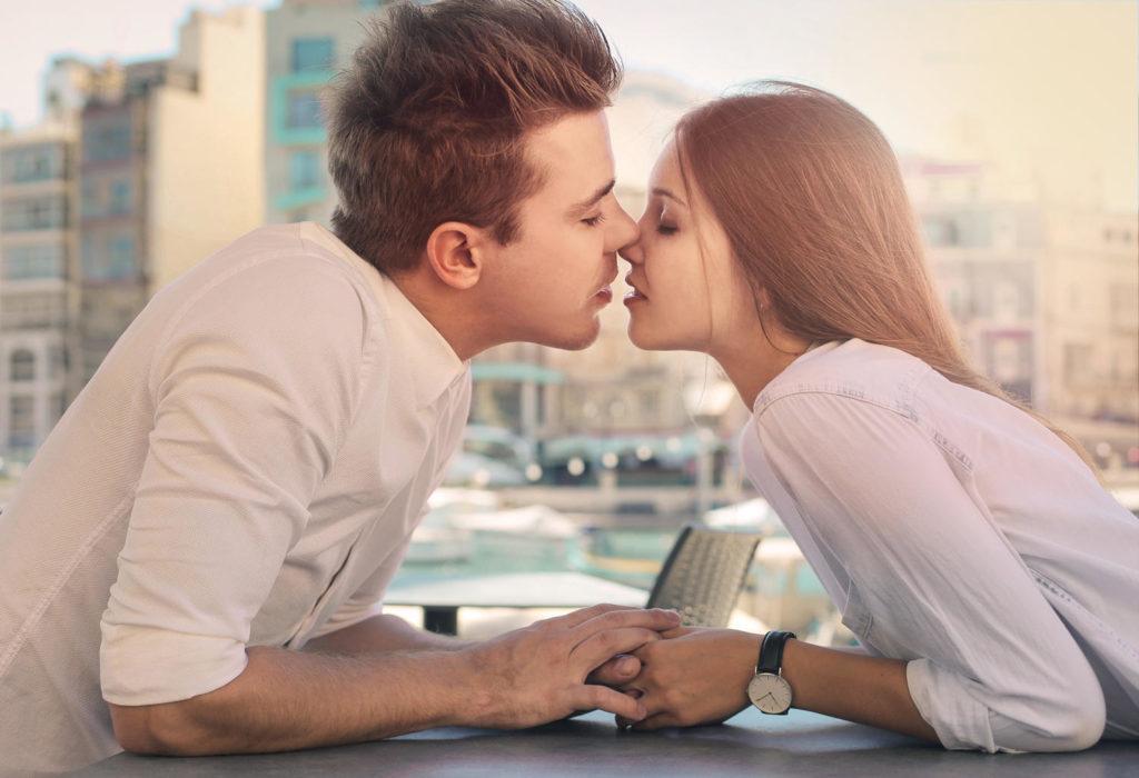 quand embrasser une fille